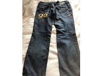mens g-star jeans 32w x 32 l