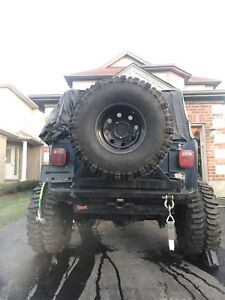 2000 Jeep TJ 4.0L solid axle swapped *sold as is*