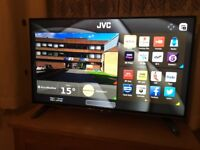 "Jvc 43"" 4k ultra hd smart led tv"