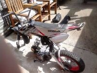 PITBIKE FOR SALE SPARES REPAIRS/NON RUNNER/ FOR PARTS/PROJECT