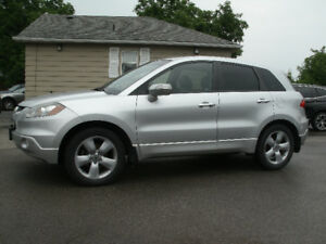 2008 Acura RDX Tech Pkg: Navigation,Leather, AWD, Must See!