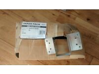 Joist Hanger Pack. Will Split. New in Box. 47mm wide * 67mm High. Up to 100mm High. 2*4; Timbers.