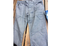 Crafted, Designer jeans, as new, Diesel, Levis