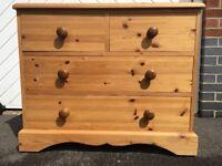 4 drawer chest - pine