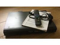 PANASONIC DVD Recorder 160GB hard drive, Freeview/HDMI complete with original remote & instructions