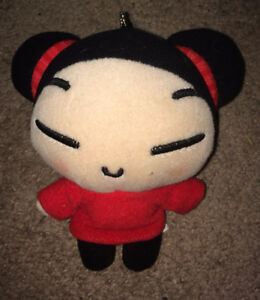 Pucca Plush Suction Cup Car Window Hanger 5 Inches