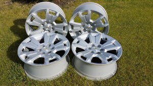 "Chevy Colorado/GMC Canyon 17"" Aluminum wheels new $450.00"