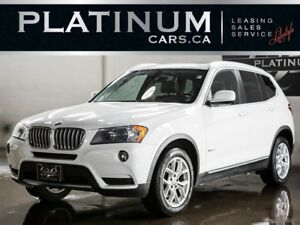 2012 BMW X3 xDrive28i, NAVI, PAN