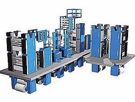 Used ORIENT SUPER , GOSS Community , MANUGRAPH Cityline , HI-LINE Web Offset Printing Machine