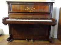 Beautifully restored Cramer upright piano of quality with 3 years remaining on the guarantee