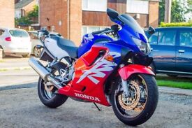 Honda CBR600 F (2000) - 8793 miles, Red White Blue