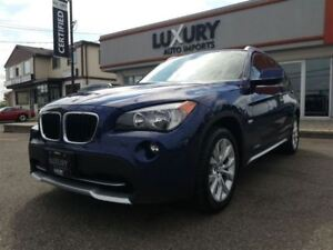 2012 BMW X1 XDRIVE -PREMIUM PKG-PANOROOF- WOW ONLY 11 K