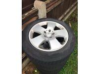 MERCEDES ALLOY WHEELS 17""