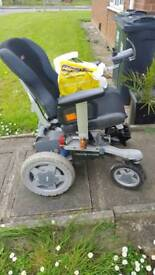 Battery powered wheel chair