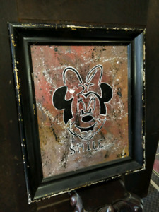 Very old rare Walt Disney Painting signed by the Artist