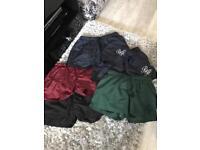 Men's becks and Hersey shorts