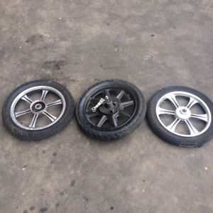 electric scooter wheels