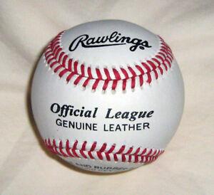 Rawlings Official League baseballs, 6