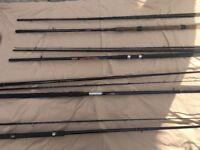 Bundle of 4 rods