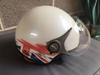 Motorcycle Open Faced Crash Helmet OP01