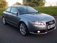 AUDI A4 2.0 TDI S LINE 140BHP CLEAN CAR!! LIKE GOLF PASSAT 320D 330D 520D 530D VECTRA MONDEO A3 A6
