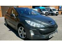 Nice example of 2008 AUTOMATIC Peugeot 308 2.0 HDI SW, FSH, full MOT, very high spec!!