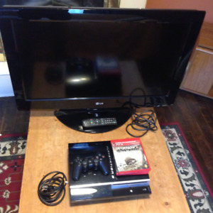 32' LG Full HD LCD TV and PS3