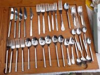 Selection of Knives Forks and Spoons