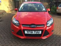 Ford Focus 1.6 Petrol Automatic (61 Plate)