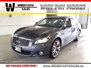 2011 Infiniti M37 S|LEATHER|SUNROOF|BACKUP CAM|50,201 KMS