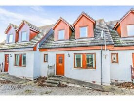 2 BEDROOM MODERN MID TERRACE HOUSE IN ALNESS FOR SALE.