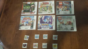 Nintendo 3DS Game Lot