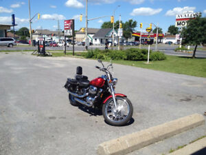 MINT HONDA SHADOW SPIRIT 750CC