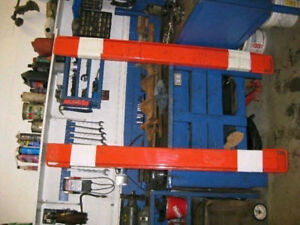 Fork extension, bucket tooth, & laser leveling system