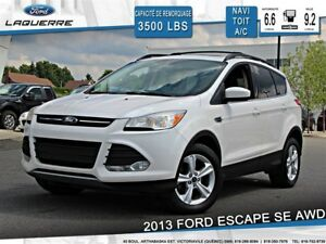 2013 Ford Escape SE**AWD*NAVI*TOIT*A/C 2 ZONES**