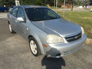 2005 Chevrolet Optra LS Sedan Certified with Warranty