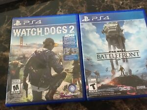 Watch Dogs 2 and Star Wars Battlefront PS4