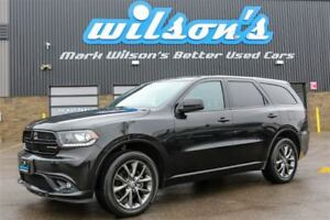 2016 Dodge Durango SXT AWD! 7-PASS! LEATHER TRIM! $108/WK, 5.49%