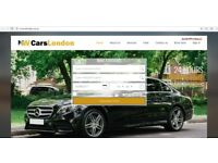 Taxi Website and online booking system - domain is NWCarsLondon