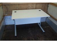 White / computer desk / workstation / desk