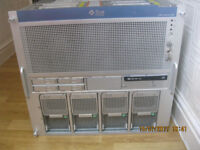 SUN SPARC ENTERPRISE M5000 SERVER WITH 4 X PROCESSORS 128GB RAM, 4 X 146GB HDD'S