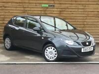 Seat Ibiza 1.2 S 5dr [AC] FULL SEAT SERVICE HISTORY (track grey) 2010