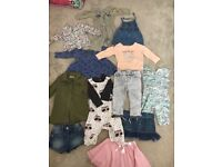 AS NEW bundle of clothes, ages 3-6, 6-9 and 9-12 months (Next, Laredoute, Mothercare, Diesel, H&M)