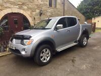 2007 Mitsubishi L200 Elegance double cab pick up 2.5 diesel auto