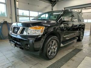 2013 Nissan Armada Platinum Reserve - LOADED! 8 PASS - MINT!