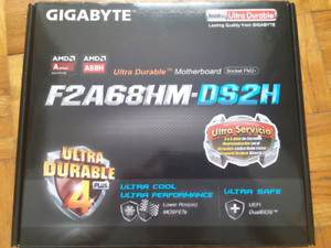 Gigabyte F2A68HM-DS2H motherboard