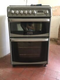 Harrogate Dual Fuel Cannon Cooker (gas hob, electric double oven)