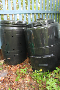 Compost Barrel (1) Good Condition