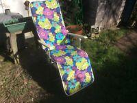 1970s garden chair recliner