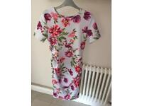 Asos Floral Bodycon Maternity dress size 10